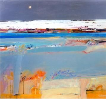 Archie Dunbar McIntosh - Winter Fields, Braco
