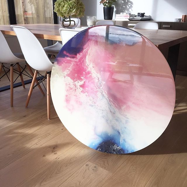Morning light on this beautiful sunset storm resin print it is stunning in the…