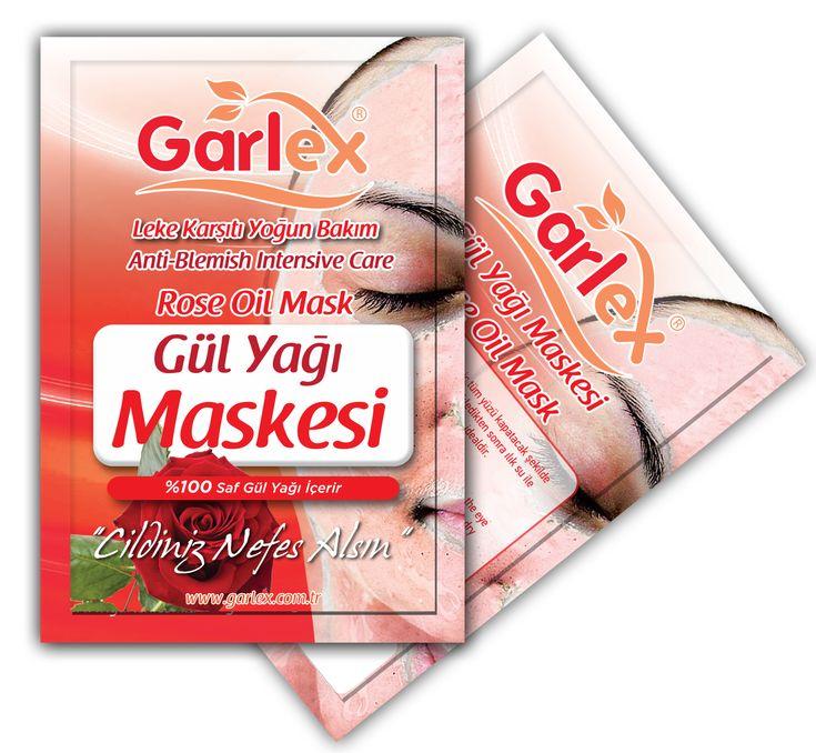 Garlex Gül Yağı Kil Maskesi