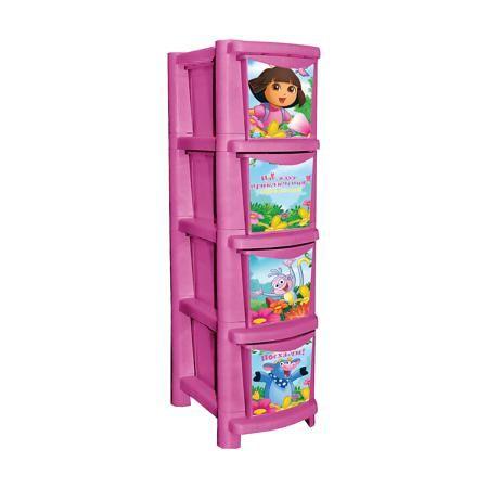 """Little Angel Комод для детской комнаты """"Даша путешественница"""" 245мм, Little Angel, розовый  — 2570р.  Комод для детской комнаты """"Даша путешественница"""" 245 мм, Little Angel, розовый ‒ это детская мебель от отечественного производителя . Комод изготовлен из экологически безопасного материала ‒ полипропилена, который обеспечивает легкость конструкции, прочность, устойчивость к физическим и химическим воздействиям. Окраска комода обладает высокой устойчивостью цвета к внешним воздействиям. Комод…"""