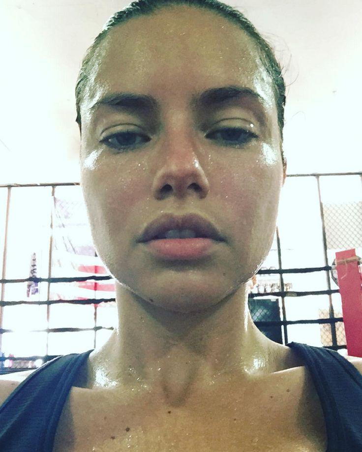 Adriana Lima's favorite workout.