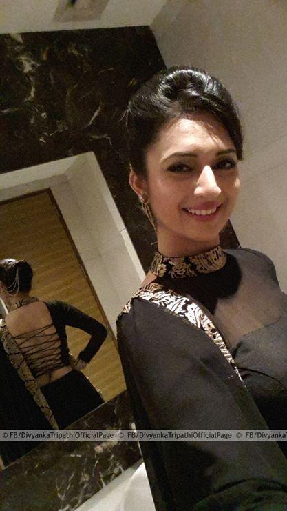 Divyanka Tripathi - look in the mirror. Great back