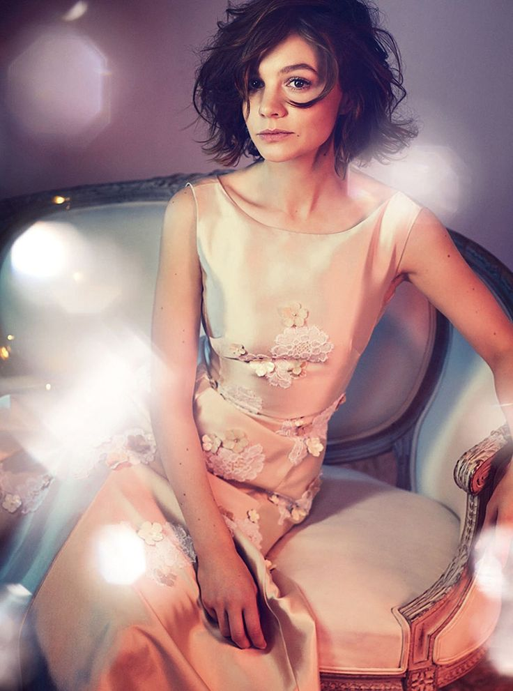 Carey Mulligan for Harper's Bazaar UK December 2014 photographed by Alexi Lubomirski