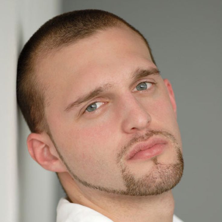 Pictures of Haircuts for Men with Thinning Hair: A Buzz with a Beard