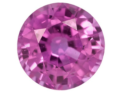 """Not technically a yard sale find.  I """"panned for gold"""" at a fair with my sister years ago and won a pink sapphire.  Probably lab-created, but hey, you never know.  Now if I could only remember where I put it!"""