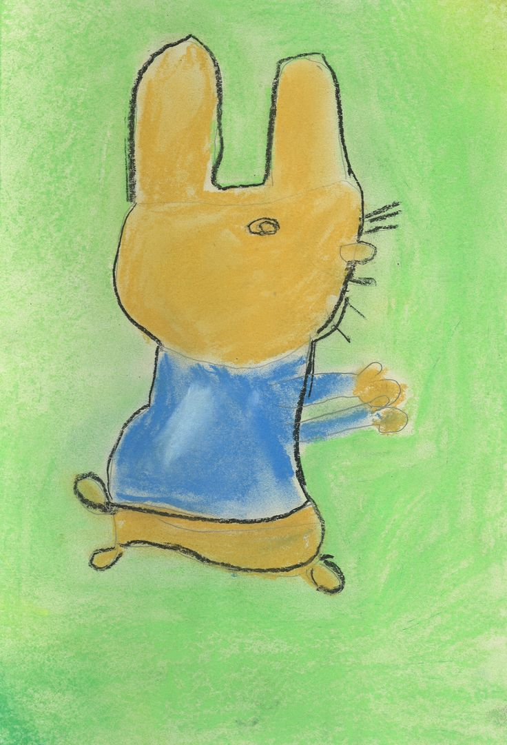 Beatrix Potter in pastels by Tilly