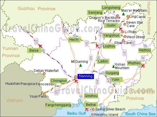 Nanning Map