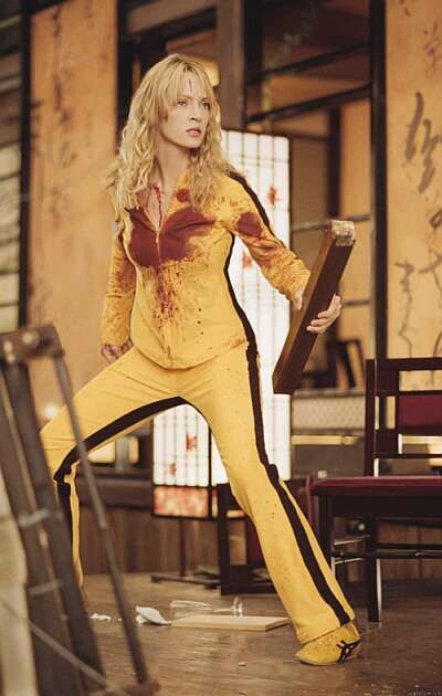 Onitsuka Tiger launch campaign at Cannes with Uma Thurman in Kill Bill by StawberryFrog