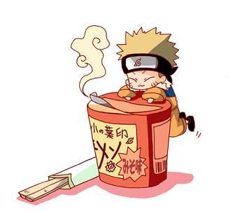 naruto & ramen by neji hyuga is the best, via Flickr