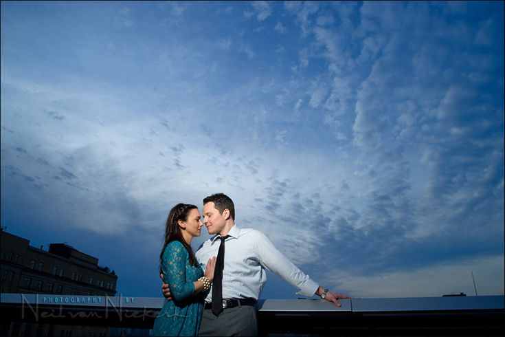 flash photography technique - turning day into night During the photo session with a couple, Laura & Todd, I wanted to add some variety to the images from the urban setting we were in. The sky had been overcast, but started to clear later on, leaving wispy clouds. Just perfect for a dramatic sky as…
