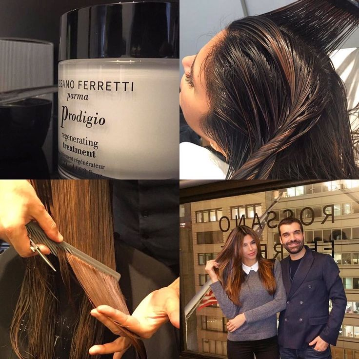 """Rossano Ferretti on Twitter: """"Prodigio a Regenerating Treatment which leaves the hair extraordinarily shiny and silky...!"""