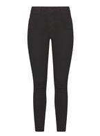 Womens Black High Waist 'Bailey' Super skinny stretch jeans- Black