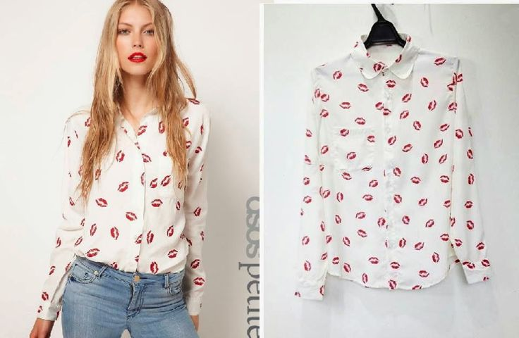 let's shop here : Lips Blouse