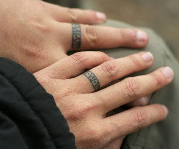 25+ best ideas about Wedding ring tattoos on Pinterest | Ring ...
