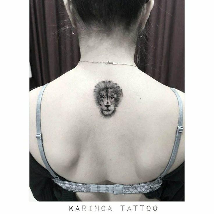 instagram.com/… #lion #tattoo #minimal #tattoos #design #inked #tattooedgirl #…