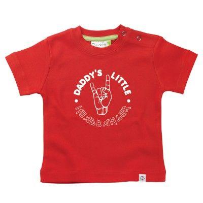 Daddy's Headbanger Baby T-Shirt by Hairy Baby