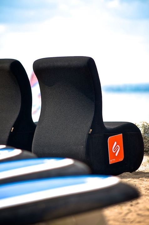 pufy SITI na plaży / SITI sits on the beach #relax #sit #sitag