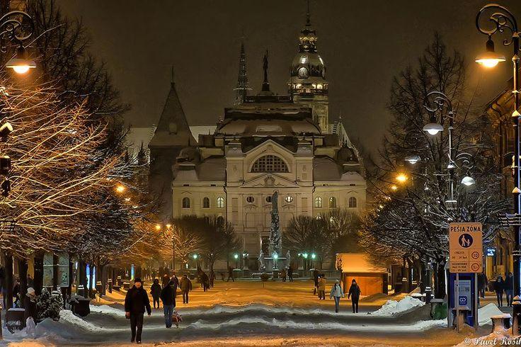 Košice, Slovakia, 13.1.2017