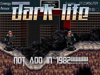 Dark Life, Not add in 1982!!!!!!!!!!!