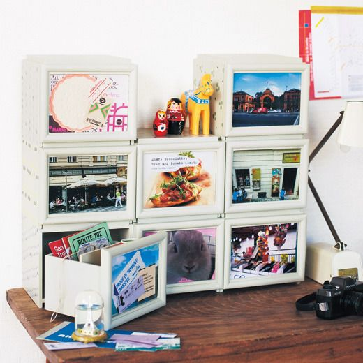 【pick up shop】ざっくり保管で整理も簡単! 自宅が写真展になるスタッキングドロワー   フェリシモ
