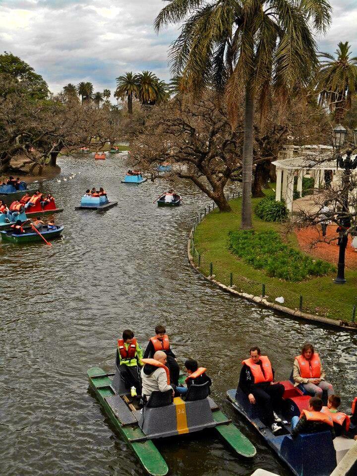 Parque Tres de Febrero, Palermo. Buenos Aires. Argentina