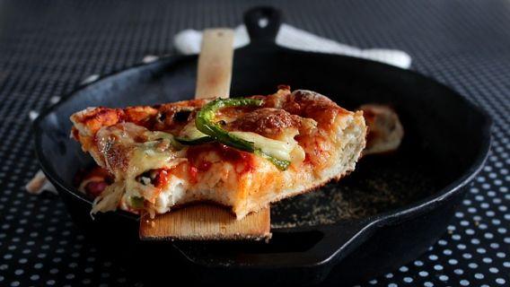 Blogue de Mme Carrée - Pan pizza 2 ingrédients