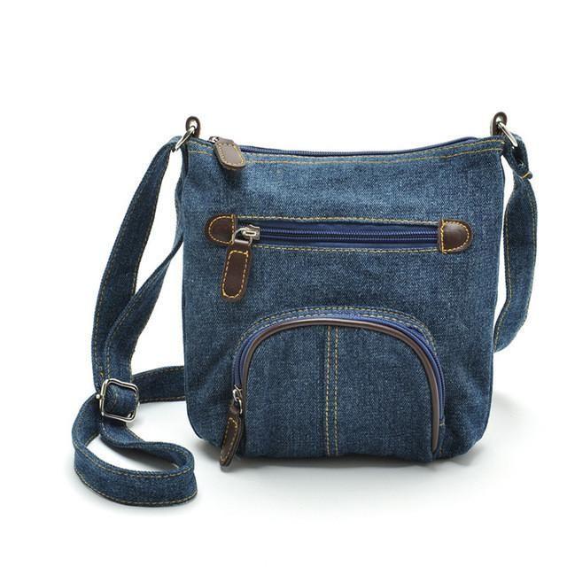 Denim Cross shoulder Bag