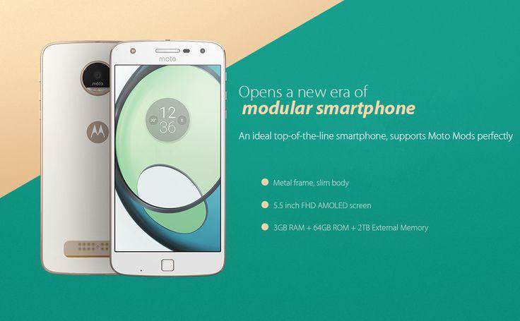Vente Flash pour le, Lenovo Moto Z Play (Black/215.24€) ;)