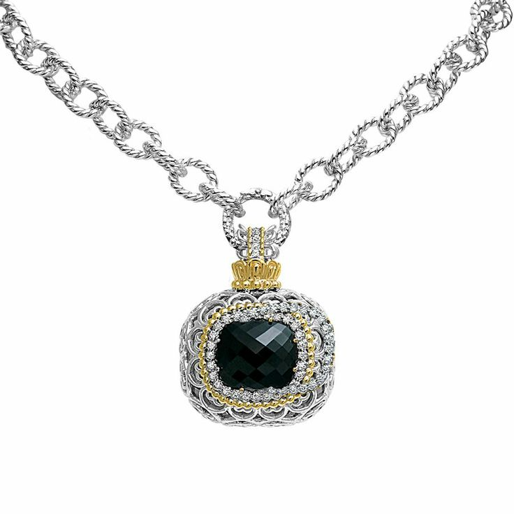 Here is another enchanting color gem stone necklace - Parris Jewelers, Hattiesburg, MS #gemstones