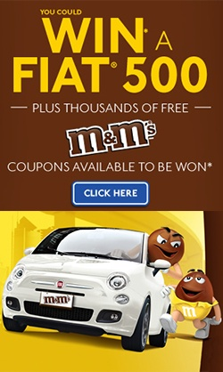 Win a Fiat 500 from M
