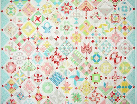 Farmer's Wife Quilt - The BigAssembly - Pretty by Hand - Pretty By Hand
