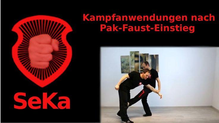 Kampfanwendungen nach Pak-Faust-Einstieg (Trainingseinblick)
