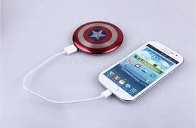 Avengers Captain America Charger Power Bank
