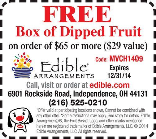 Edible Arrangements Coupon - Independence, Ohio