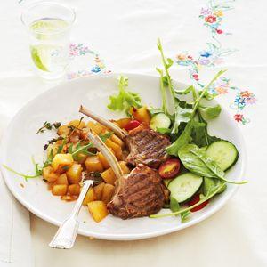 No-fuss meals: Week 1 – Lamb chops with herbed potatoes