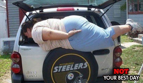 Planking...not for everyone.