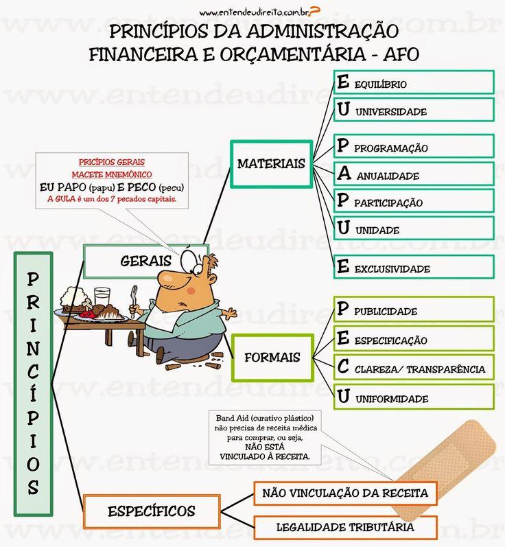 ENTENDEU DIREITO OU QUER QUE DESENHE  ???: PRINCÍPIOS DA ADMINISTRAÇÃO FINANCEIRA ORÇAMENTÁRI...