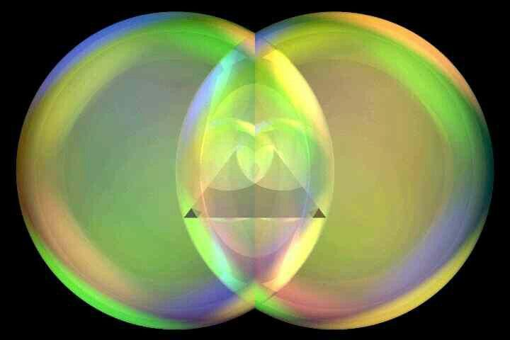 The VESICA PISCIS is the 6th level of Sacred Geometry. It is also one of the common multicultural Goddess symbols. And not without reason.
