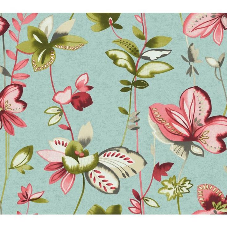 Watercolours by Carey Lind Designs, WT4542 by York Wallcoverings