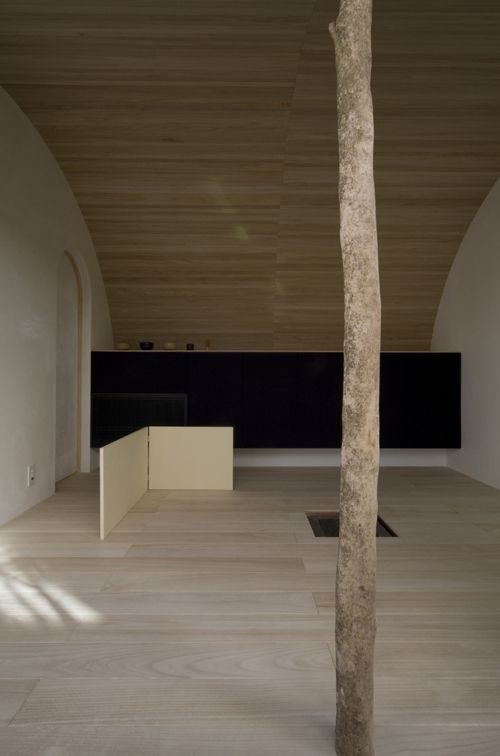 "Japan based Hiroshi Yoshikawa Architects Design have completed ""Tea House in Umemi Kyuan"" in Kyoto, Japan."