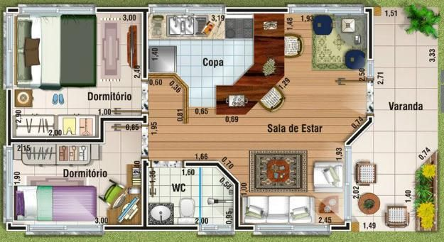 17 best images about planos y casas on pinterest nice for Planos de cocinas de 10 metros cuadrados