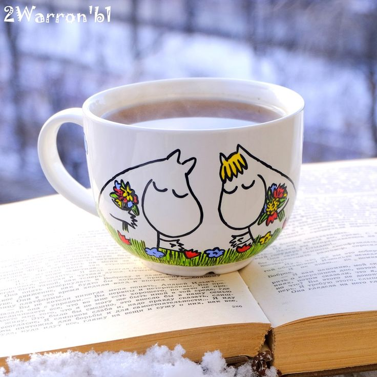 Enjoy a cuppa and a good book with MOOMINS