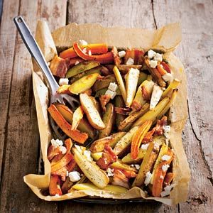 Recept - Geroosterde pastinaak met wortel - Allerhande