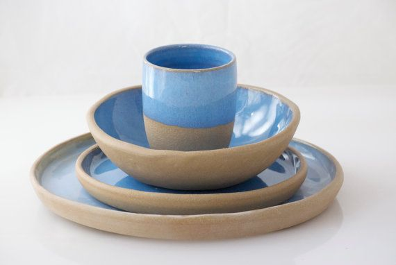 Ceramic Dinnerware set Ceramic dinnerware dinner by claylicious