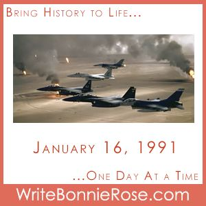 FREE Timeline Worksheet: January 16, 1991, Gulf War Begins. Why does David's dad have to be among the first to deploy? Why does his dad serve in the military at all? As David struggles with these questions at the beginning of the Gulf War, he finds unexpected answers in the parable of the Good Samaritan. - WriteBonnieRose.com