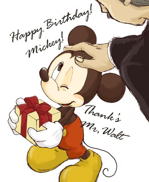 *MICKEY ~ awww!