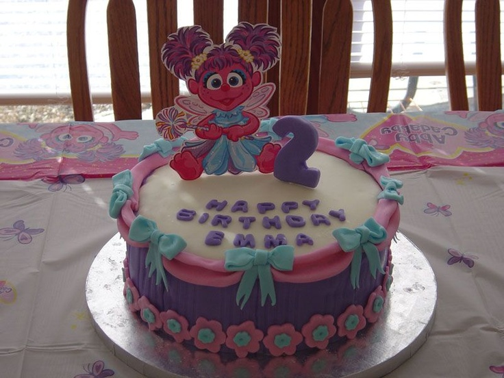 Best Abby Cadabby Images On Pinterest Birthday Party Ideas - Elmo and abby birthday cake