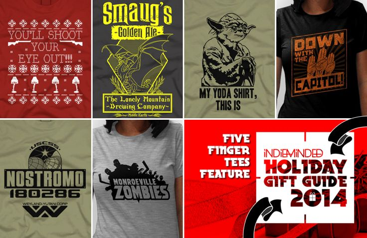 Must Have Movie T Shirts from Five Finger Tees