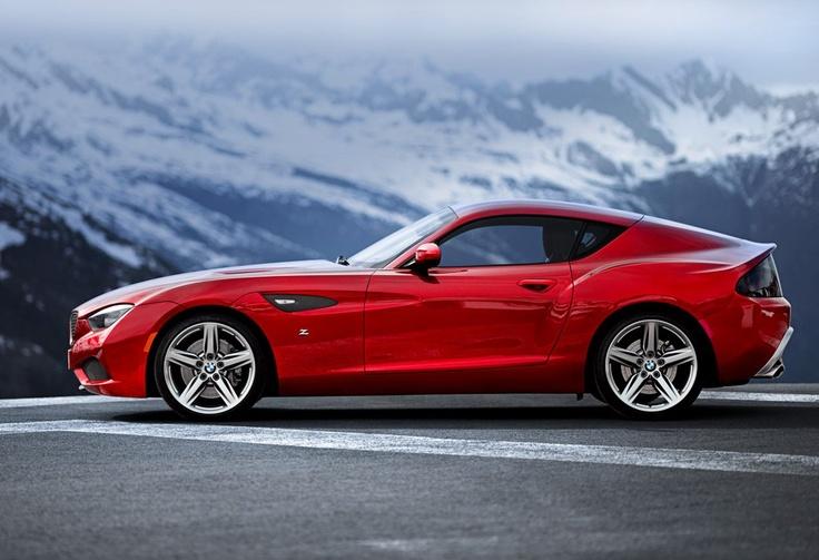 Lahůdka pro fanoušky designu - BMW Zagato Coupé.