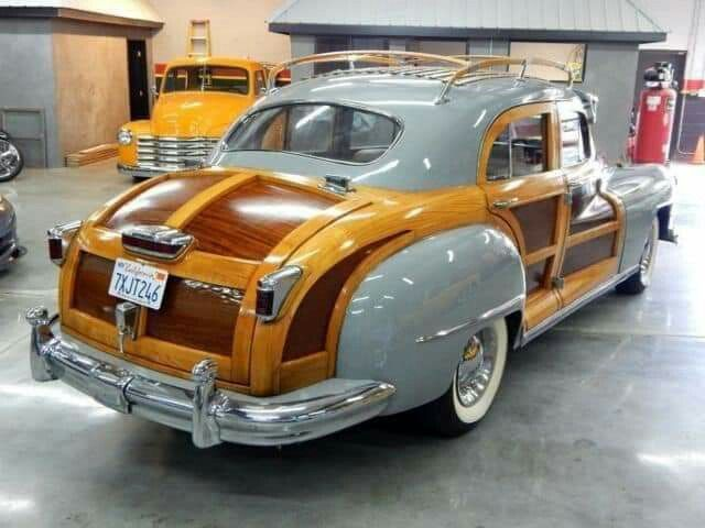 1947 Chrysler Windsor Town Country Woody Sedan V 2020 G